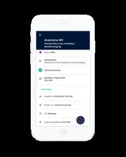Alberta App - Anamnese Wundversorgung