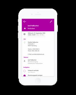 Alberta App - Tourenplanung