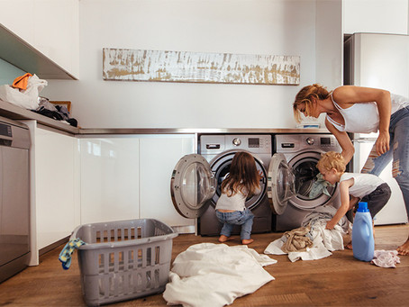 Organising Tips For Your Little Laundry Space