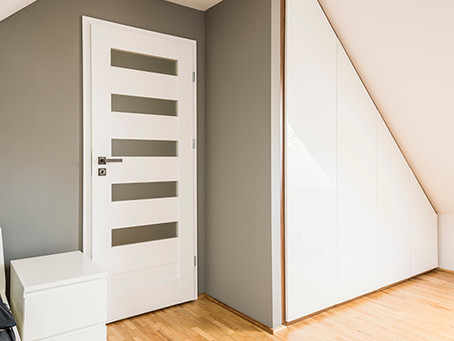 Lining Up Your Wardrobe With Your Angled Ceiling