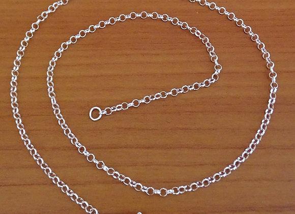 Rolo chain necklace   2mm   40cm