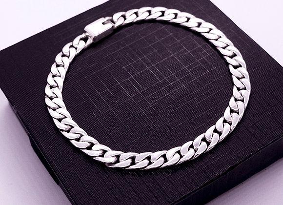 Flat chain bracelet | 6mm | 20cm