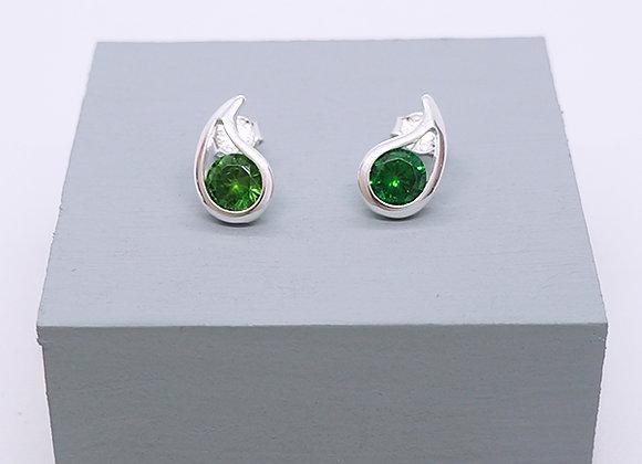 Drop silhouette earrings