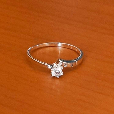 Solitaire ring #7