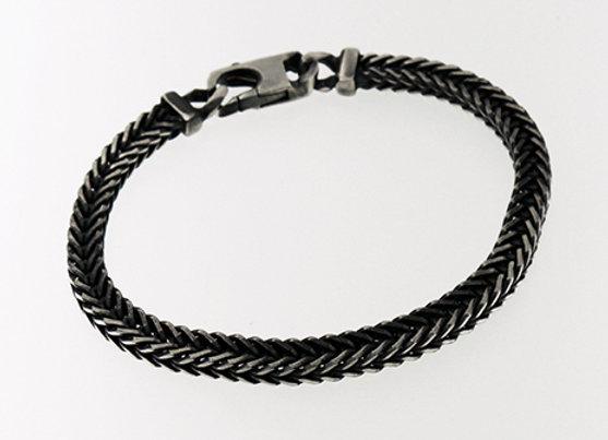 Men's bracelet | Bluing finish