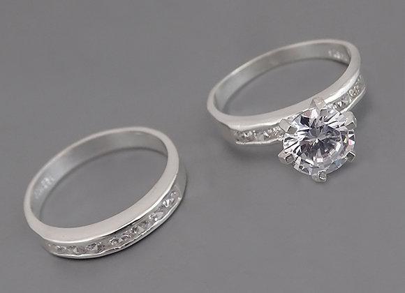 Conjunto de anillos alianza #7
