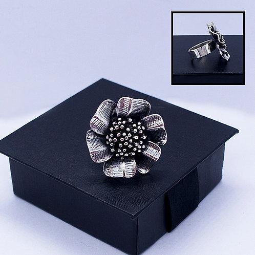 Flower ring #adjustable