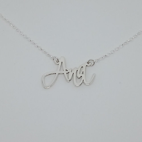 Name necklace | Ana