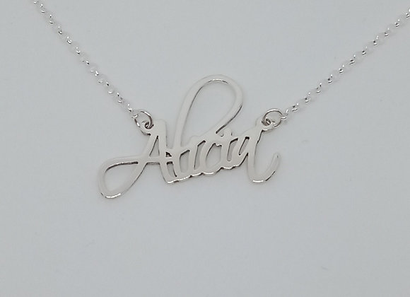 Collar con nombre | Alicia