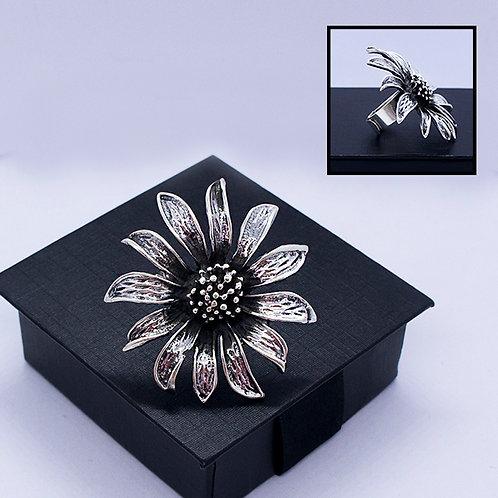BIG daisy ring #adjustable