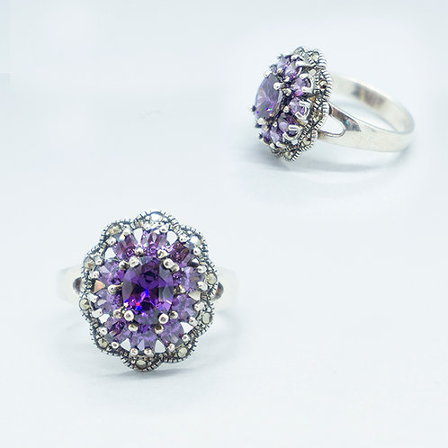 Marcasite ring #10