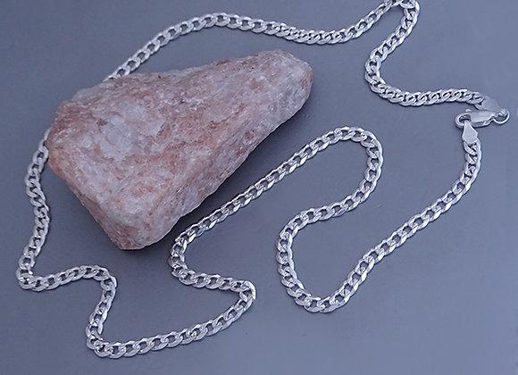 Cuban chain necklace | 4mm | 55cm