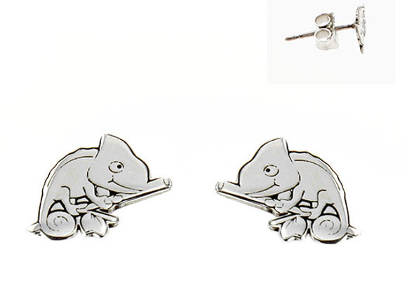Chameleon earrings