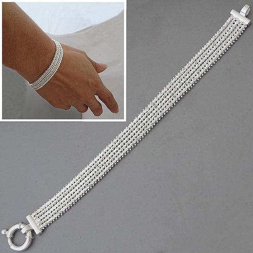 Diamond cut bracelet | 11mm | 18cm