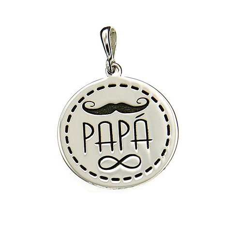 Papá (dad) pendant