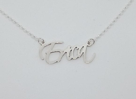 Collar con nombre | Erica