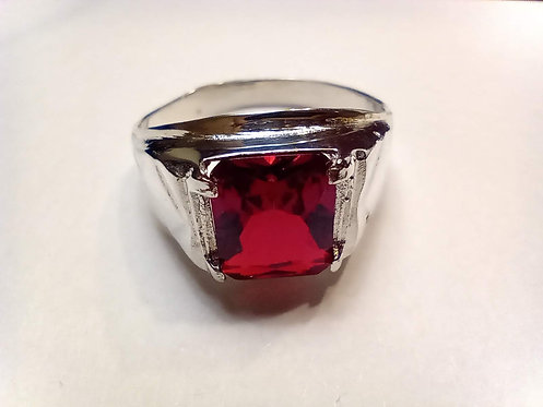 Red stone ring #13