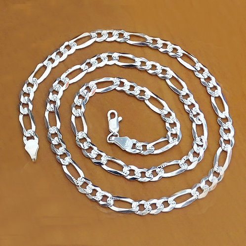 Figaro chain necklace | 6mm | 60cm