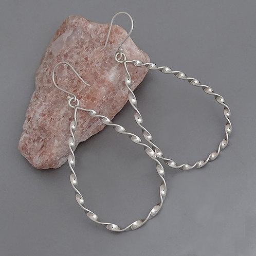Drop silohuette earrings