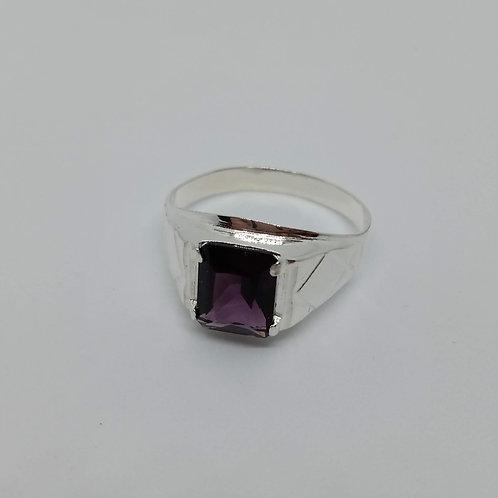 Purple stone ring #13.5