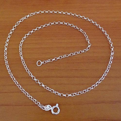 Rolo chain necklace | 2mm | 45cm