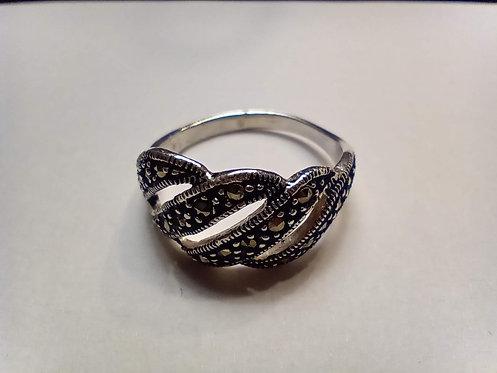 Marcasite ring #9