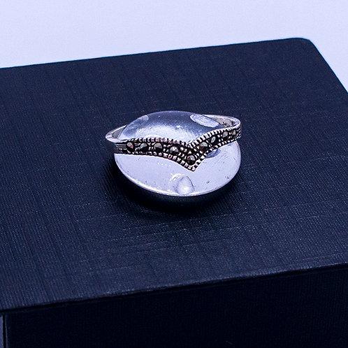 Marcasite tiara ring #8