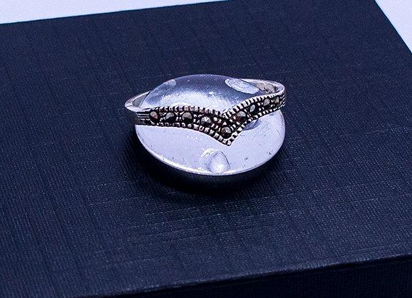 Anillo tiara marquesita #8