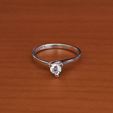 Solitaire ring #6.5