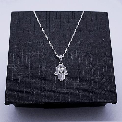 Hamsa Hand necklace (Hand of Fatima)