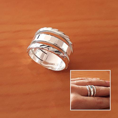 Triple ring #7.5