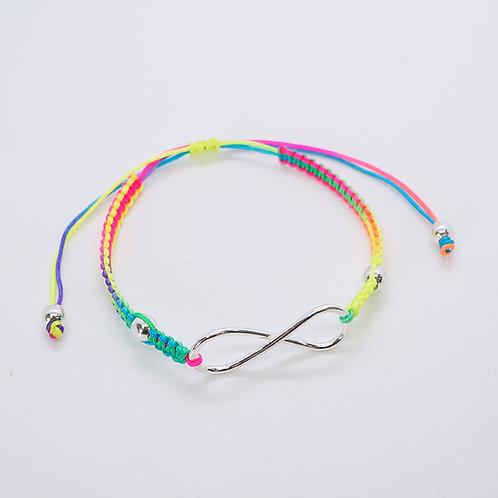 Infinity thread bracelet