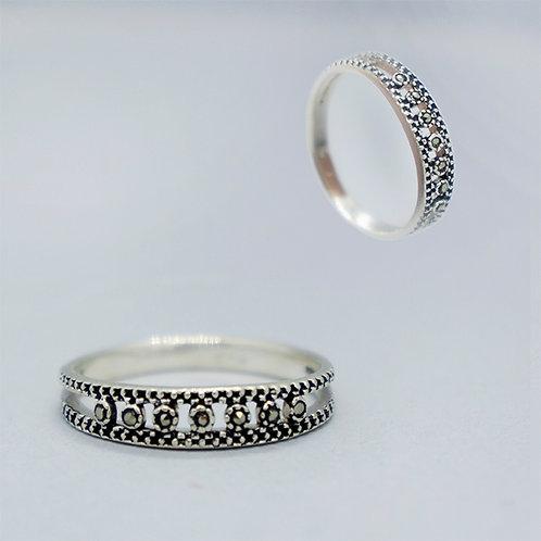 Marcasite ring #6