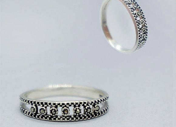 Marcasite ring #7