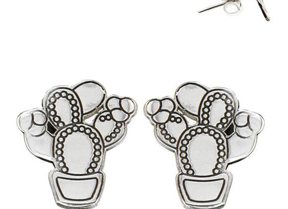 Cactus shaped earrings