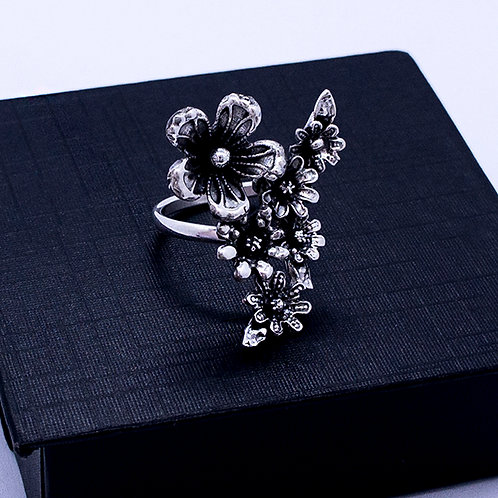 Bouquet of flower ring #adjustable