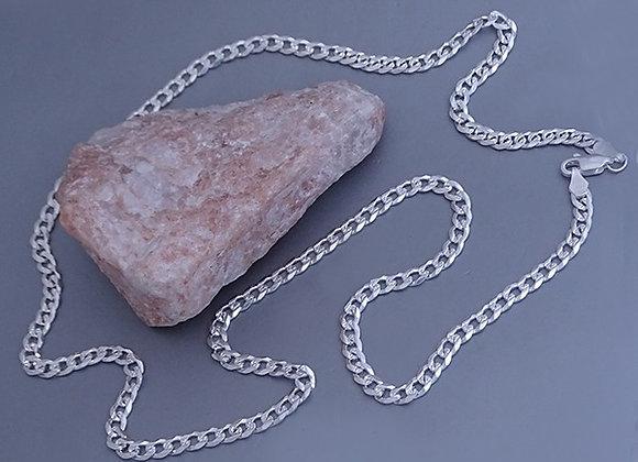 Cuban chain necklace | 4mm | 50cm