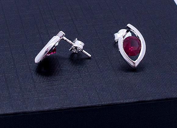 Seed silhouette earrings
