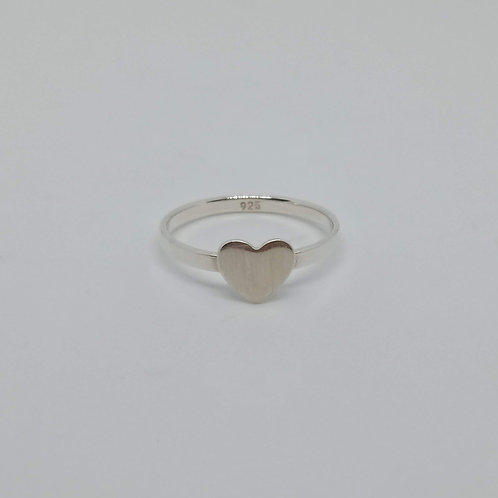 Heart wire ring #8