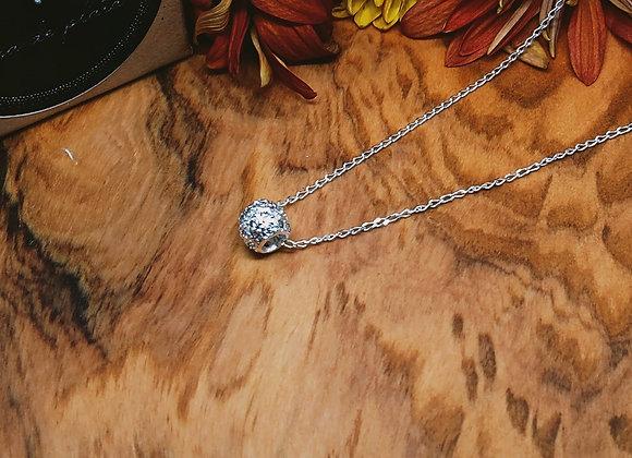 Barrel charm necklace