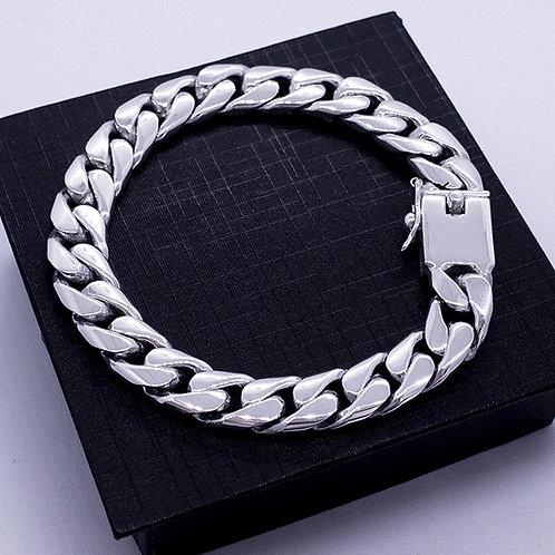 Flat chain bracelet | 22cm | 10mm