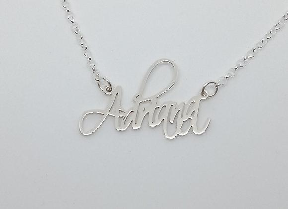 Collar con nombre | Adriana