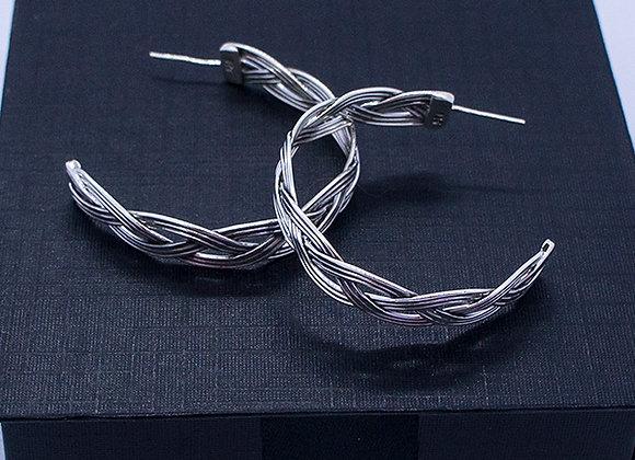 Braided earrings