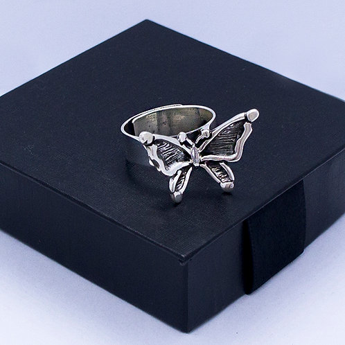 Butterfly ring #adjustable