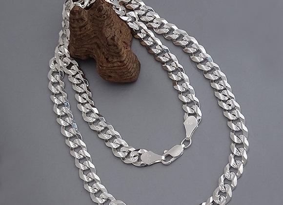 Cuban chain necklace   7mm   55cm