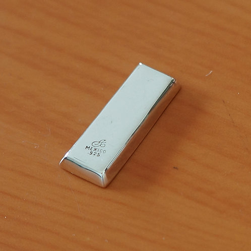 .925 silver ingot for collection