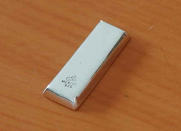 Lingote para colección de plata .925
