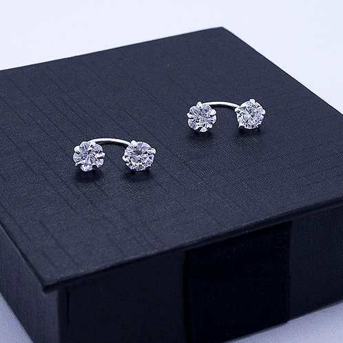 Telephone style earrings