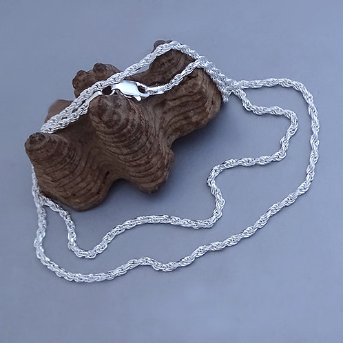 Rope chain necklace | 2mm | 55cm