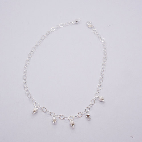 Ball charms anklet